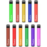 Оригинальные Original Yuoto Plus 800 УДАЛЕНИЕ Одноразовые КОМПЛЕЧЕНИЯ E CIGARETTES Устройство 600 мАч Батарея 2.5 мл Стручки 800Установок Vape Pen