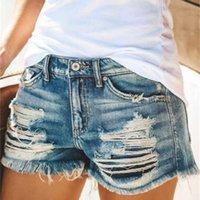 Jeans Estate con fori e pantaloncini naselli