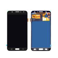 LCD Ekran Samsung Galaxy J7 J700 J7-2015 OLED Ekran Panelleri Digitizer Değiştirme Çerçevesi olmadan