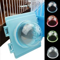 Small Animal Supplies 1Pc Plastic Hamster Tunnel External Tube Stopper Plug End Cap Cover Interface Fitting Cage Baffle Accessories With Hol