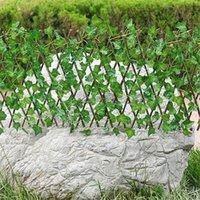 Pantalla de plantas de jardín artificial UV Privacidad protegida Pantalla de privacidad al aire libre Uso interior Jardín Cerca de jardín Patio trasero Decoración para el hogar Murallas de vegetación