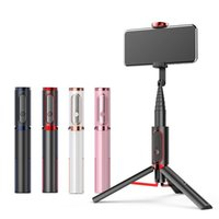 Selfie Monopods Bluetooth Stick With Tripod Multi-function Gimbal Mobile Phone Fill Light Live Support
