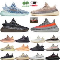 Wholesale 2021 Big Size EUR 48 Running Shoes MX Blue Oat Rock Mono Ice Clay Mist Cinder Mens Trainers Static Black Reflective Zebra Carbon Womens Sports Sneakers