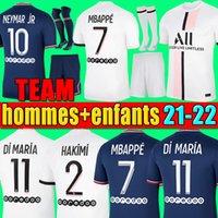 Manchester 2021 2022 camisetas de fútbol UNITED CAVANI UTD VAN DE BEEK B. FERNANDES RASHFORD camiseta de fútbol 21 22 hombre + kit para niños HUMANRACE cuarto chandal de la