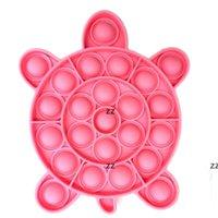 Empurre Bubble Sensory Toys Engraçado Relevo Stress Desktop Game Soft Squeeze Toy Raciocínio Lógico Treinamento Treiny Hwe8478