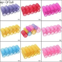 10pcs lot Different Size Self Grip Hair Rollers Magic Curlers DIY Home Use Hairdressing Roller Styling Tool Home1