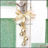 Decorations Festive Party Supplies Home & Gardenchristmas Ornament Pendant Jingle Bell Door Hanging Decoration Christmas Tree Colorf1 Drop D