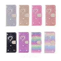 For iPhone 11 12 Pro Max flip Phone cases 3D Plum Rhinestone Glitter PU Leather protective sleeve Samsung S10 S20 Ultra CellPhone Cover