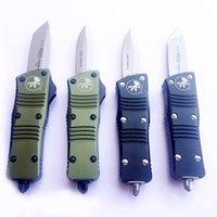 wholesale New Mini Aluminum Handle knife Camping Hunter knife Outdoor Tool