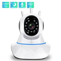 Cameras 1080P IP Camera Smart WiFi Two Way Audio HD IR Night Vision Surveillance Home Security Pet Wireless Baby Monitor