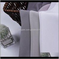 Cortina cortina tecido têxtil de chiffon cor pura tela semi-transparente tela para sala de estar e quarto mkfuv gzenh