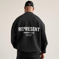 2021 Europe Royaume-Uni Pulls Club Pull Automne Hiver O Cou Sweat à capuche Mode Femmes Terry Tissus Tissus Pull Sweat