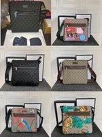새로운 남자 가방 크로스 바디 가방 패션 크로스 바디 남자 망 디자이너 BA G 사이즈 21x23 * 4cm 모델 547751