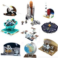 DIY 3D Bulmaca Kağıt Havacılık Küre Ülke Tarzı Modeli Monte Eğitim Bilim Oyunları Oyuncak Çocuklar Için Öğrenme Yapboz Çocuk Oyuncakları