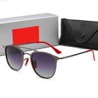 Occhiali da sole moda Designer Designer Uomo retrò Polarizzato Gold Luxury Plated Square Frame Brand Occhiali da sole Occhiali occhiali con custodia