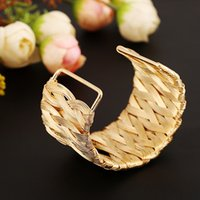 European and American trend exaggerated quality jewelry wire hand woven environmental protection bracelet manufacturers direct sales