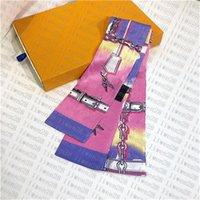 new fashion brand designer Silk HANDBAG Bag scarf Headbands women silk scraves 100% Top grade silk bag scarf hair Bands size 120-6cm
