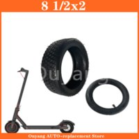 Motorcycle Wheels & Tires All- Off-road Tire 8 1 2 X2 For Mi M365 Electric Scooter Light Baby Carriage Folding Bike Zero