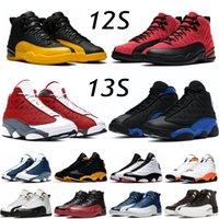 الأزياء الأحمر فلينت 13s الرجال أحذية كرة السلة التصفيات hyper الملكي indigo 12 ثانية جامعة الذهب الانفلونزا لعبة تاكسي جاما الزرقاء الرياضة أحذية رياضية الحجم 7-13