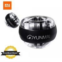 Smart Home Control MI Yunmai LED Nadgarstek Piłka Super Gyroscope Powerball Samokuprawny Studnia Gyro Siła Ramię Trener Mięśni Relax Gym Fitness Equipmen