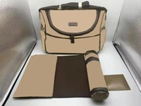 Bambino Designer Mummy Bag Maternity Diaper Bag Borse Messenger Borse Impermeabile Passeggino Backpack per bambini