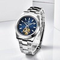 TOURBILLON 40mm Pagani Design Men's Watch Mecánico Mecánico Top Hombres Relojes de pulsera