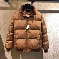 2018 Stand Collar Winter Warm Flag Famous Pony Down jacket Fashion Appliques Zipper Outerwear more color sports cotton Horse Parkas coats