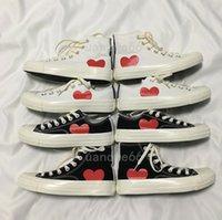 Kutu ile 1970 Klasik Rahat Kanvas Ayakkabılar Ortak Adı Kampus 1970'ler Büyük Gözler Erkekler Bayan Yıldız Sneakers Chuck 70 Chucks Sneaker Platform Star 35-44