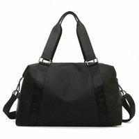 LU 19 Frauen Männer Sport Yoga Fitness Taschen Lulu Große kapizierte Reise Handtasche Nylon Männer und Damen Outdoor Bag 84EE #