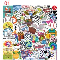 Pack of 50Pcs Wholesale Sport Stickers Ball Sticker For Luggage Skateboard Notebook Helmet Water Bottle Car decals Kids Gifts