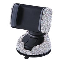 Anti-slip Mats Car Universal Phone Holder Air Vent Mount Crystal Diamond Smartphone Stand Telephone Support Bracket Accessorie