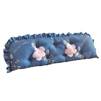 Pillow 100*12*53cm PP Cotton Solid Removable Bed Lumbar Cushion Home Decoration Headboard