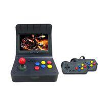 Vktech 4.3 pouces Console de jeux de jeux rétro à l'arcade rétro intégrée 3000 jeux classiques gros rocker téléviseur télévision vidéo joueur cadeau