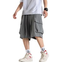 Fashions Beş Pantolon Kargo Şort Erkekler Yaz Rahat Pamuk Çok Cepler Pantolon Askeri Kamuflaj Sweathorts Erkek