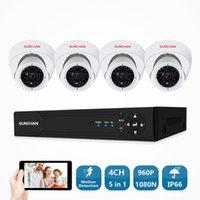 Sistema 4PCS 1500TVL Interior / Ao Ar Livre Câmera de Segurança 960P DVR DIY Kit Sistemas de Vigilância Video CCTV