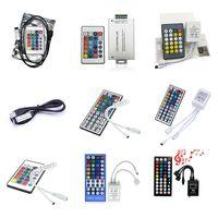 Controlador LED REMOTO REMOTO PARA 5050 2835 5630 RGB Luces de tiras 24Keys 40Keys 44Keys 5V 12V 24V RGBW Control de Dimmer Blanco