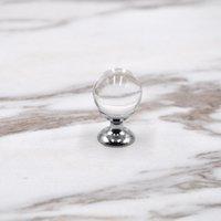 20mm 25mm 30 mm 40mm di vetro cassetto cassetto cabinet manopole tira argento cristallo cristallo a sfera a sfera portiere maniglie Qylapi DH_Seller 485 V2