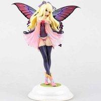 Yotsunoha 31cm Tony's Heroine Butterfly Fairy Garden Annabel 1/6 Échelle Kotobukiya Sexy PVC Action PVC Figure Modèle Toys Collection Q0722