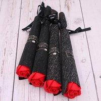 Artificial Rose Carnation Sapones de jabón Día de San Valentín Regalo para las mujeres Ramos de buques Centros de boda Partido Flores decorativas DHE6058