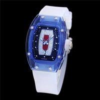 ساعة نسائية 45 مم × 31 ملم RM07-02 مجهزة بحركة سلسلة CRMA5 تردد التلقائي سوينغ 28800VPH تخزين الطاقة لمدة 50 ساعة