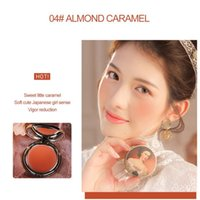 Blush 4 Color Face Powder Rouge Makeup Cheek Blusher Minerals Palettes Brush Natural Cosmetic Tools TSLM1
