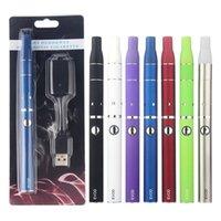 Vor G5 Dry Herb Atomizer E-Zigarette Kits Kräuter Wax Austauschbare Coil-Behälter Evod Ego Vision-Spinner 2 II Batterie Vaporizer Vape Pen Kit
