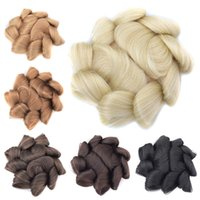 Synthetic Bun Clip in Chignons Simulating Human Hair Extension Updo Buns For Women Hairstyle Tools 40G DH119