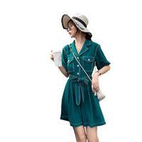 المرأة حللا السروال القصير 2021 الربيع الصيف الخريف المرأة أزياء عارضة لطيف مثير السراويل قميص المرأة أنثى ol الشارع الشهير AQ78