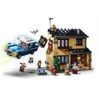 80002 New Magic Animals Castle Harried Building Blocks Brick Potter Dos Desenhos Animados Acção Figura Brinquedos Jogo Modelo Anime Presente C1118