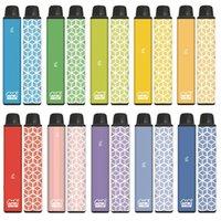 Authentic VAPEN CUBE 1600 PUFFs Disposable Vape Pen E Cigarettes Kits 650mAh Battery 5.5ml Capacity Portable Vaporizer Pre-Filled Bars Vapors