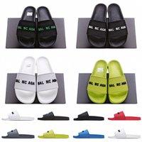 Bevorzugt 20s Jahre Herren Pool Slipper Logo-geprägte Gummi-Folien Luxurys Designer Sandalen PVC Outdoor Casual Hausschuhe Raubtiere