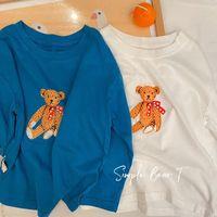 Hoodies Tişörtü Bobotcnunu Çocuk Kazak 2021 İlkbahar Sonbahar Giysileri Erkek Kız Uzun Kollu Kıyafetler Karikatür Baskı Kazak Tops