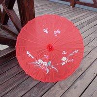 Adultos Tamanho Japonês Chinês Oriental Parasol Tecido Guarda-chuva Para Festa de Casamento Fotografia Decoração Guarda-chuva Navio Mar Nha9366