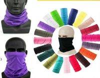 Sports de plein air Cyclisme Masque de protection Col Gaiter Viker Tube Bandana Écharpe Magic Tête Magique Face Bracelet Bonnet Cap Owb8633
